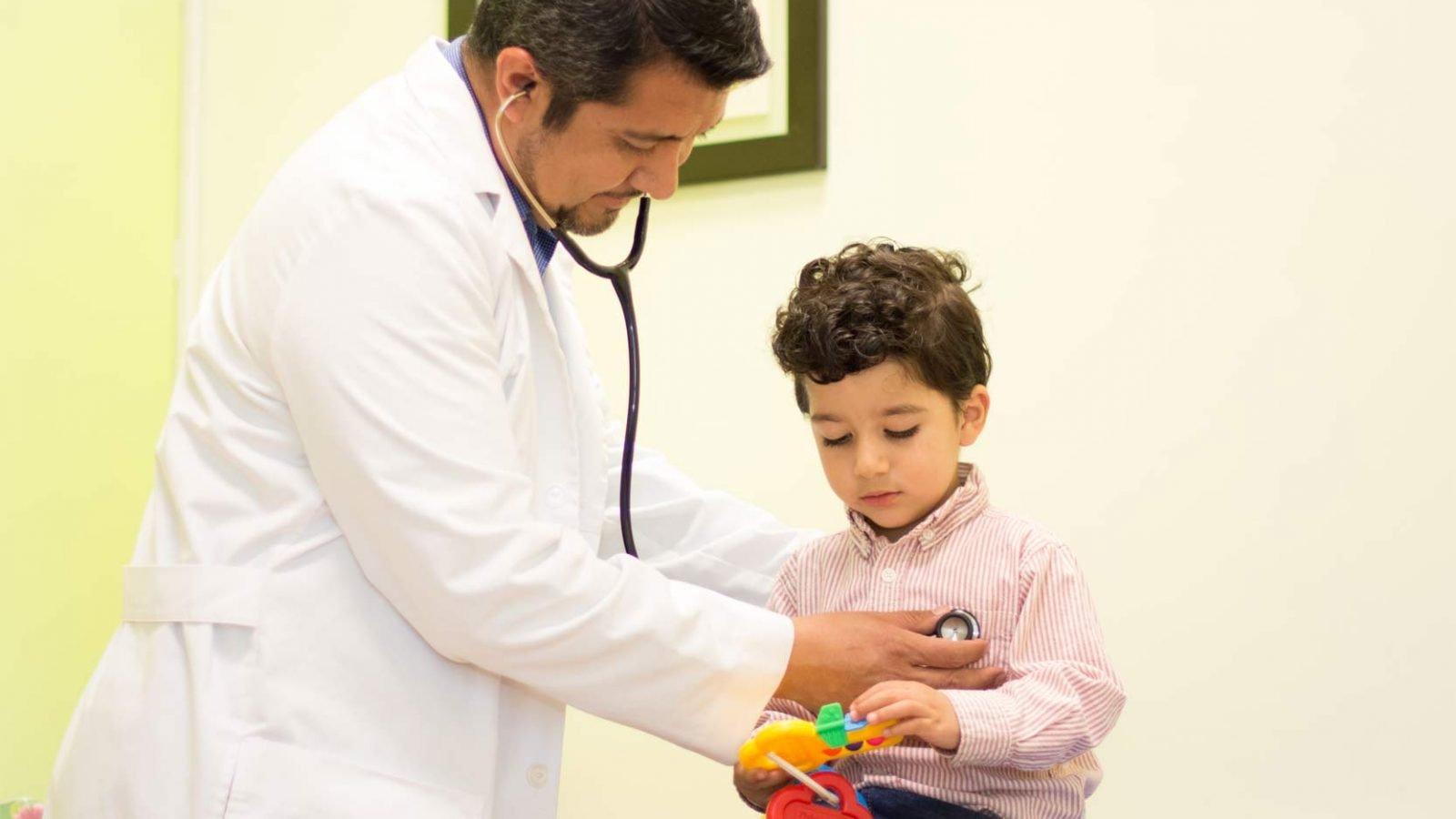 Pediatría General - Dr. Oscar García